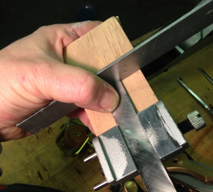 Setting the Length for the Micro Bevel