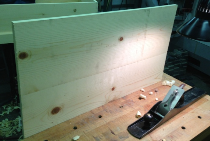 Two 1 x 12 Boards Jointed