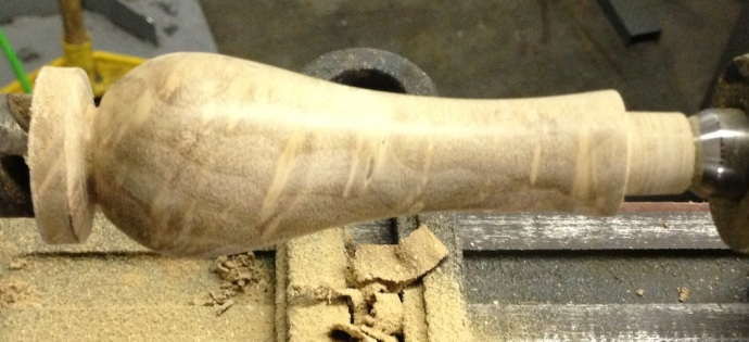 Roughed In Handle