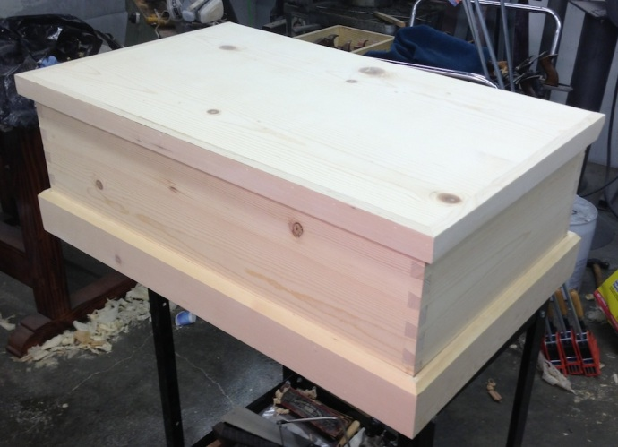 Top on, ready for tool holders and finish