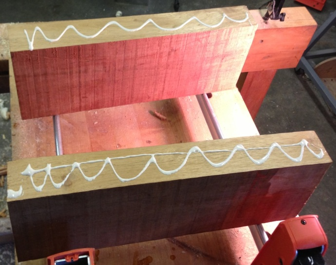 Glue Up The Seat Blank