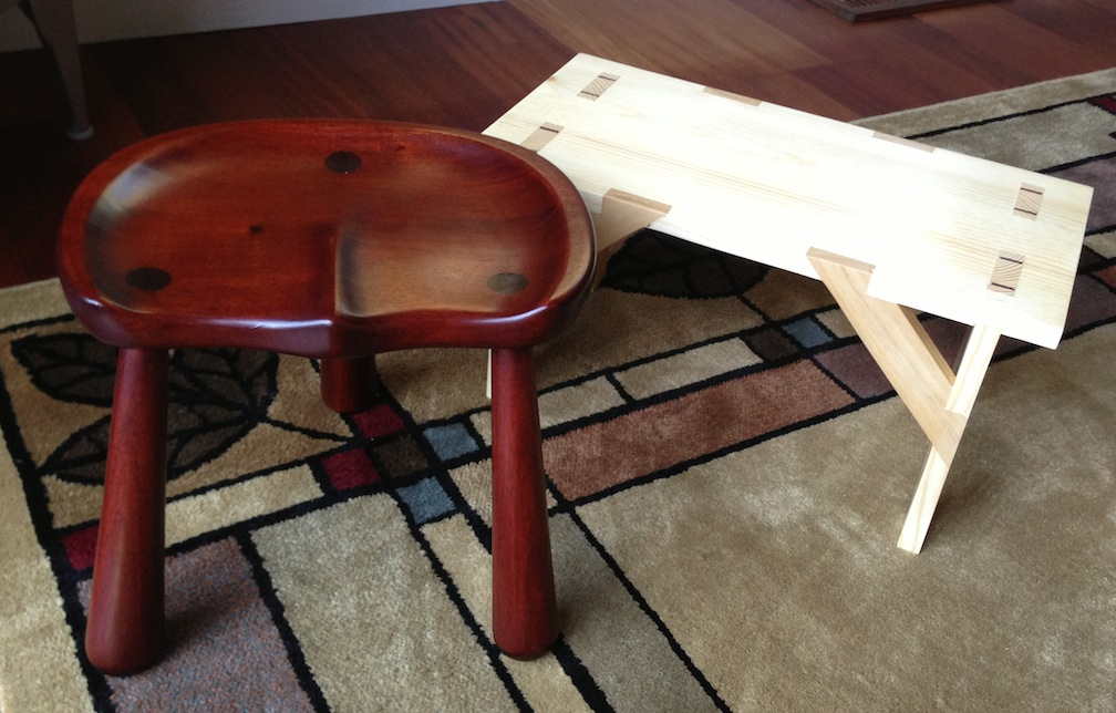 Milking Stool Mcglynn On Making