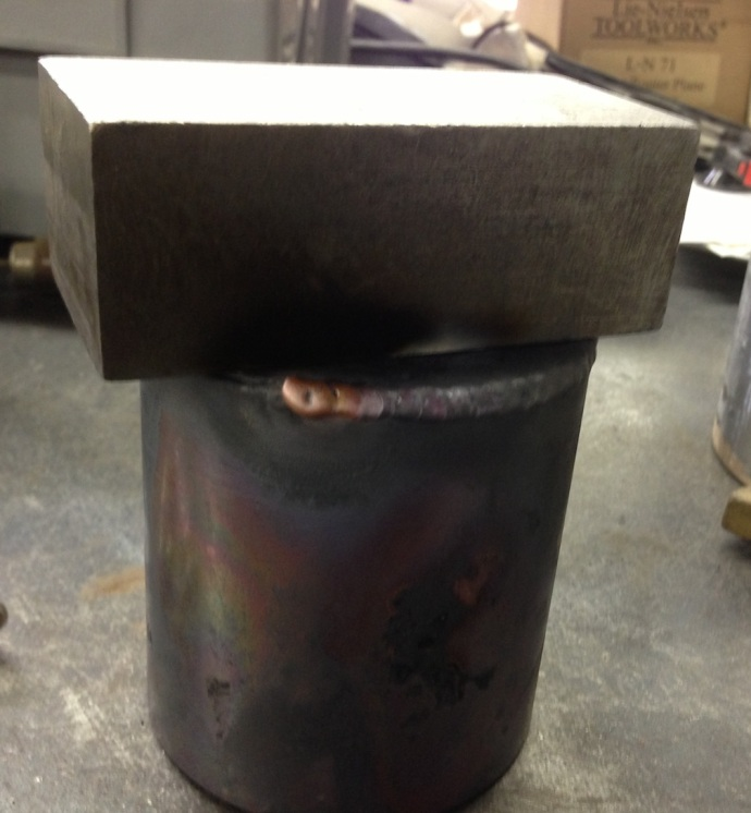 Welding on the Bottom