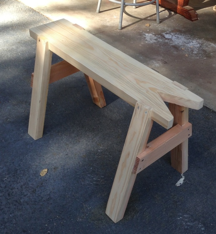 Saw Bench Fabricated