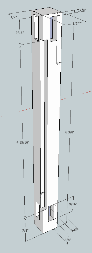 Stile Dimensions