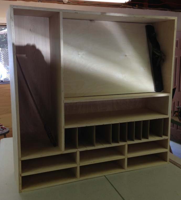 Ramped Till and Drawer Dividers In Place