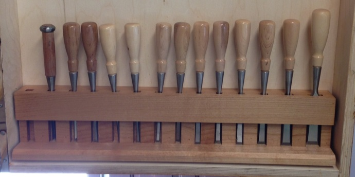 Finished Chisel Rack