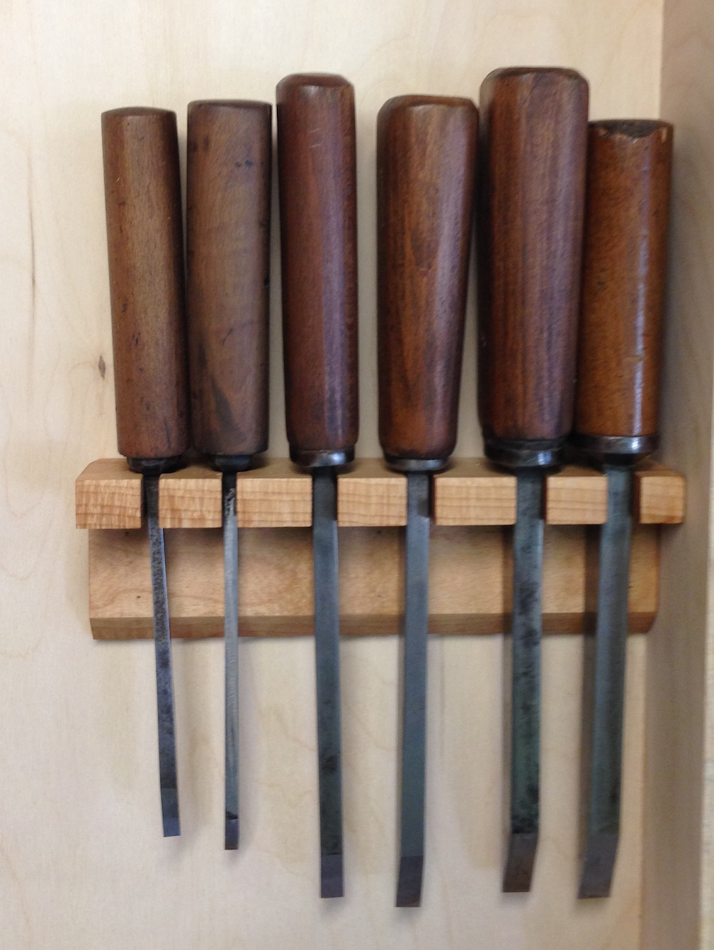 Chisel Rack For My Hand Tool Cabinet Mcglynn On Making