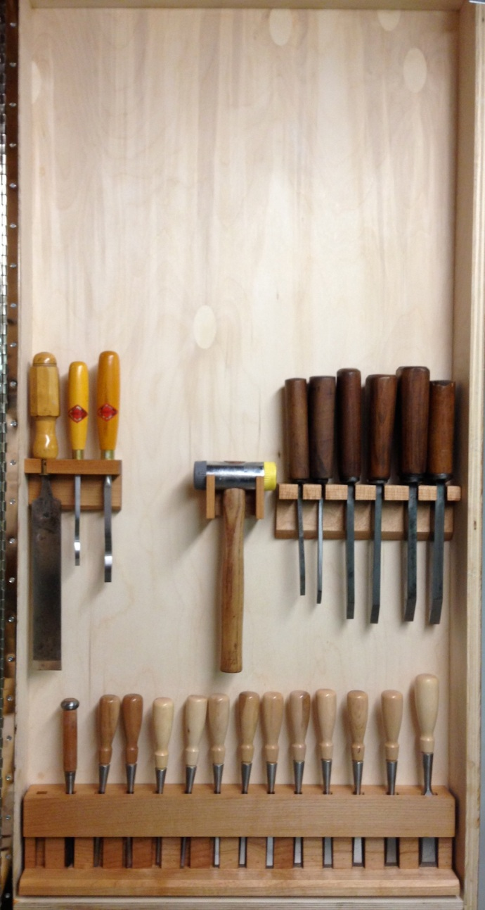 Chisels All Mounted - What's Next?