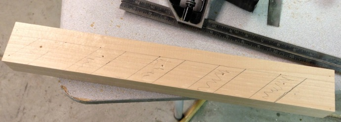 Layout for the Spokeshave Holder