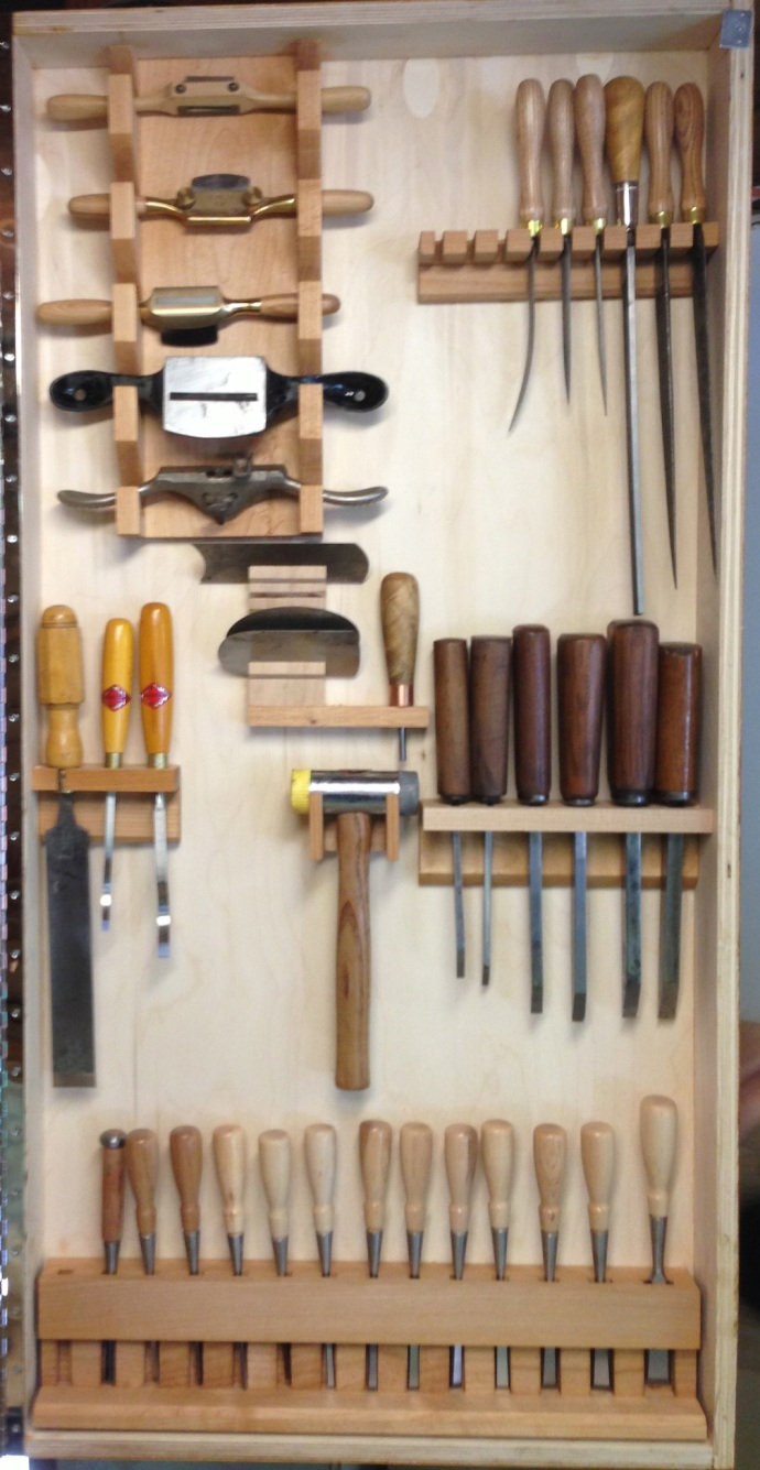Right Door, Chisels, Rasps, Scrapers, Spokeshaves