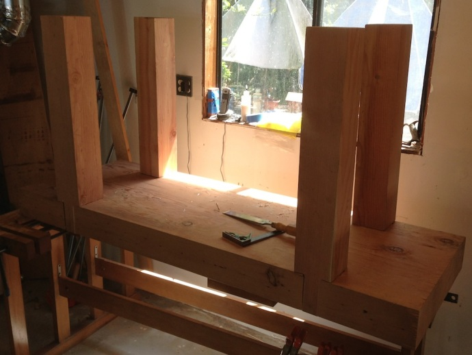 Four Legs, Four Mortises, Four Dovetail Sockets
