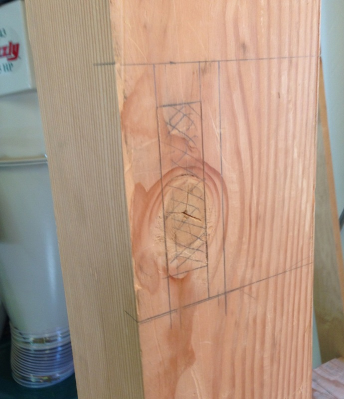 Mortise Layout