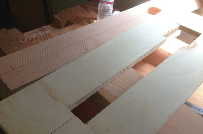 My template for routing the Crisscross mortise