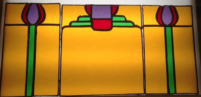 Stained Glass for G&G Sconces