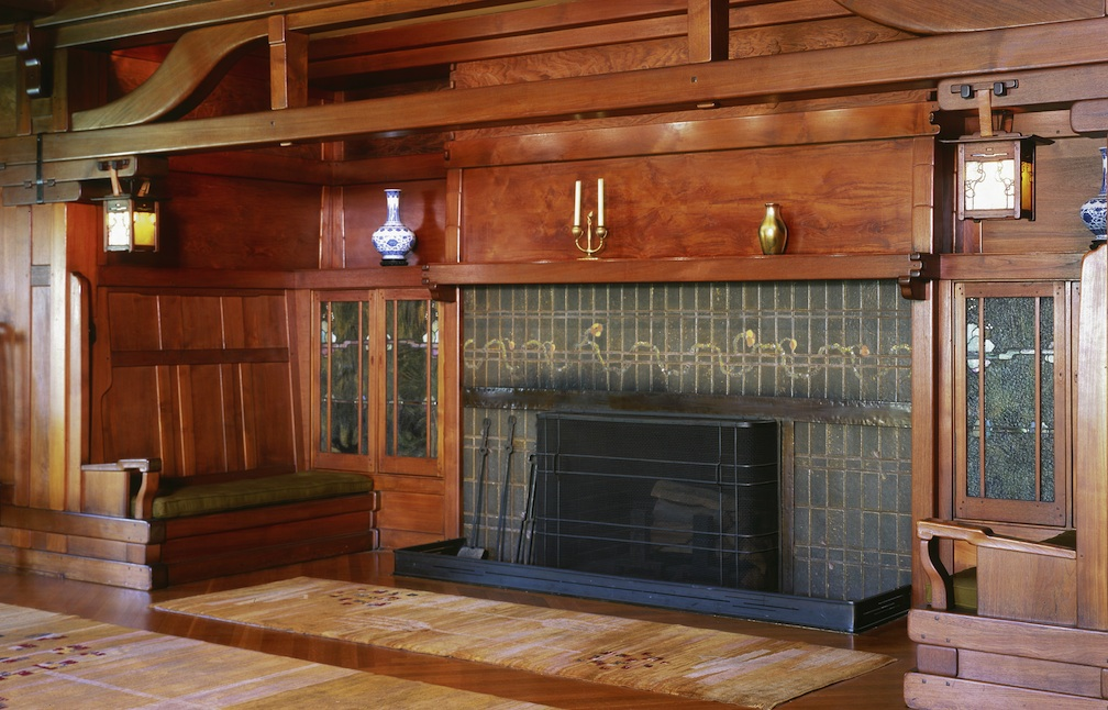 Gamble House Inglenook Sconce Mcglynn On Making