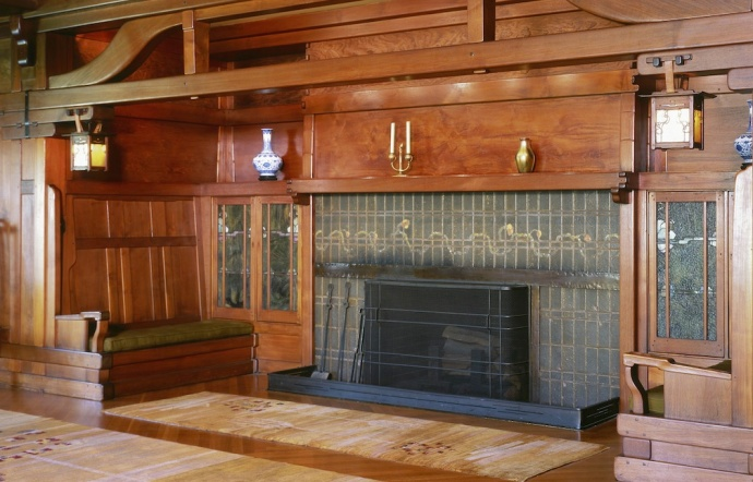 The Inglenook at the Gamble House