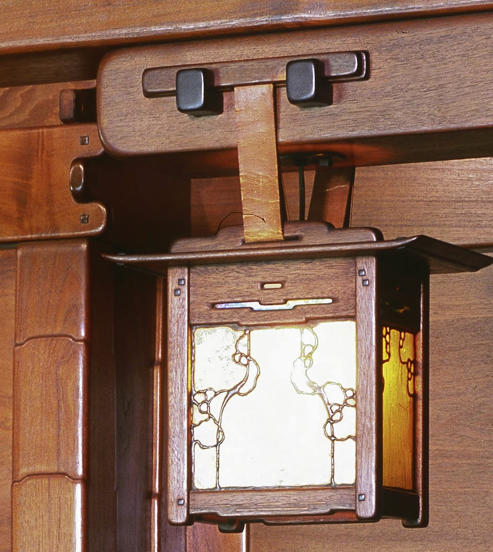 Closeup Of The Sconce