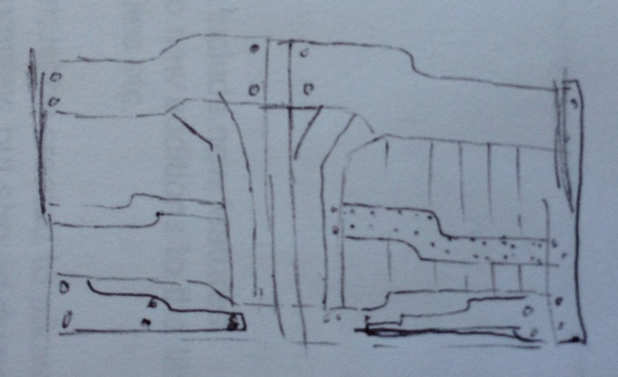 Rough (!) Sketch for the Front Gate