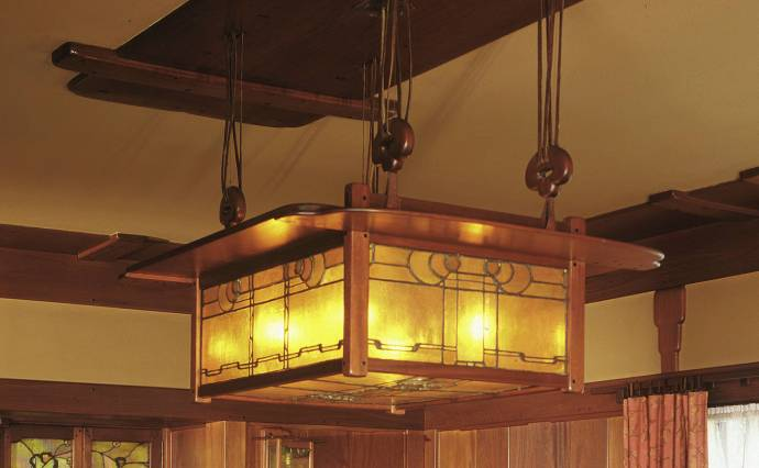 Gamble House Dining Room Fixture