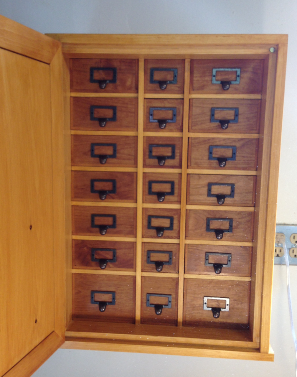 Underhill Nail Cabinet | McGlynn on Making