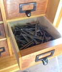 Roy Underhill's Nail Cabinet