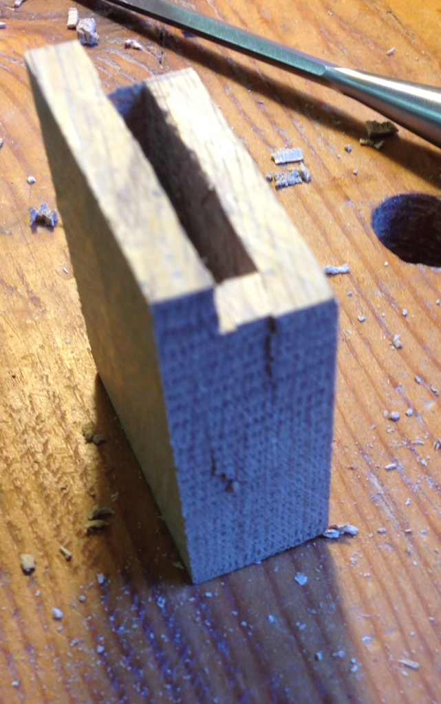 Mortise End Blowout