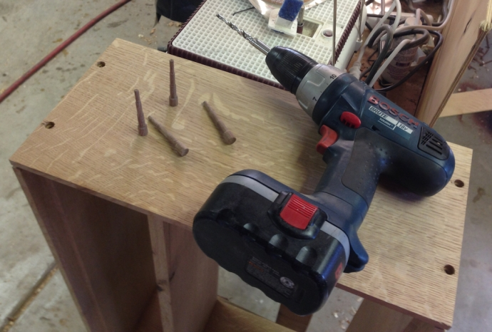 Drilling for Miller Dowels