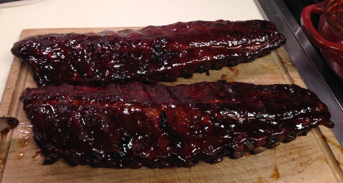 Finished ribs