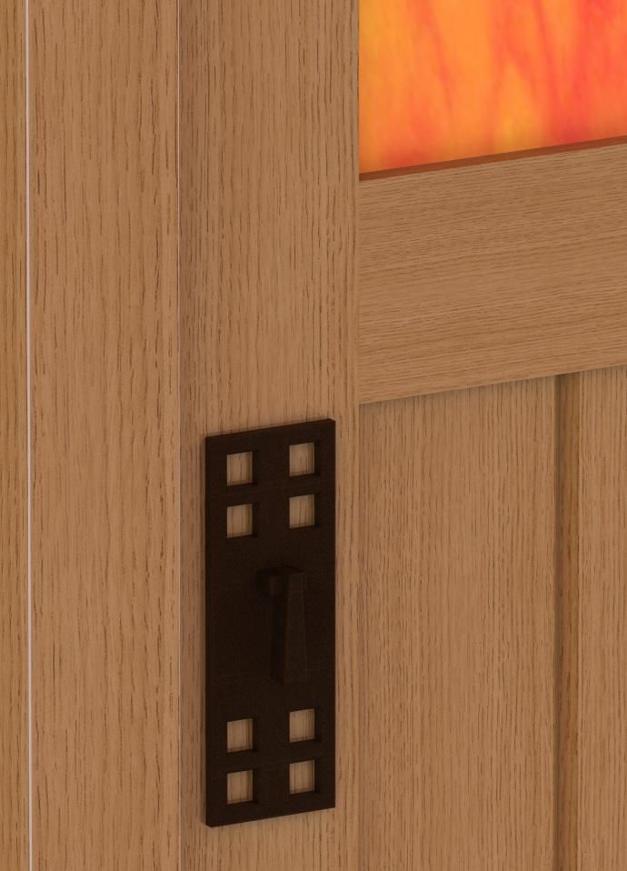 Limbert 305 1/2 Cabinet Detail