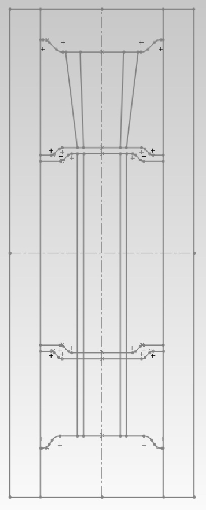 2D layout for a new door
