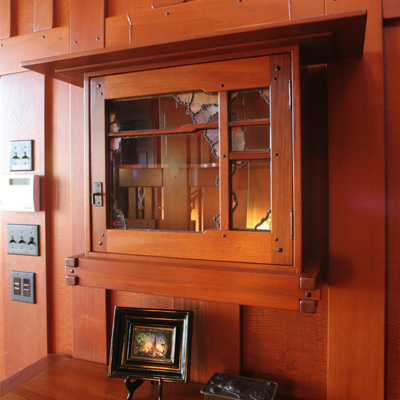 "Same cabinet design by Dale Barnard with the ""G&G Kitchen Catch"" pull"