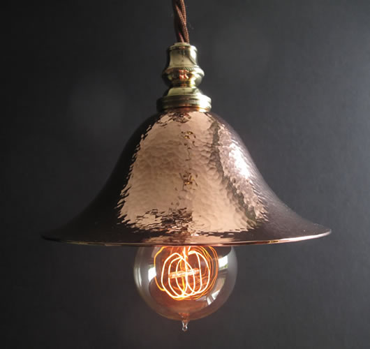 Birmingham Guild of Handicraft Pendant Light.