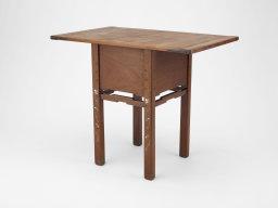 Original Blacker table at the Art Institute of Chicago