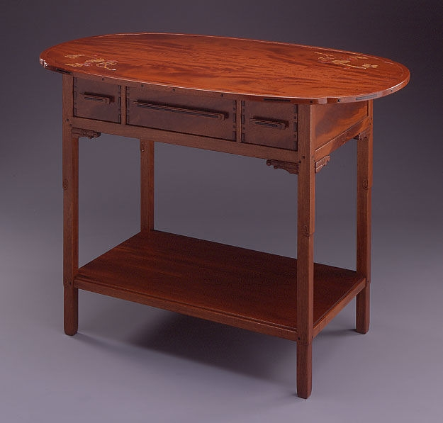 Reproduction of a table from the Thorsen house by Jonathan McLean