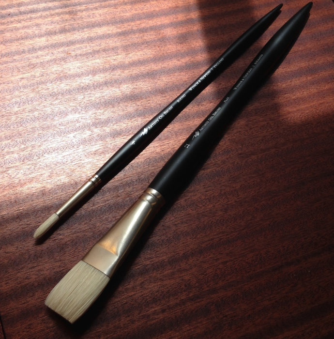 Two artist's brushes to be put to the test