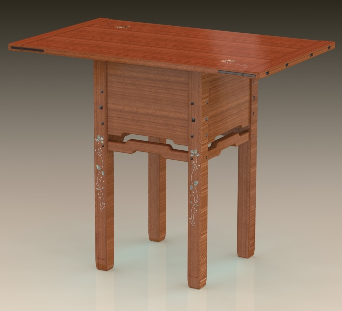 Blacker house serving table - Final Design?