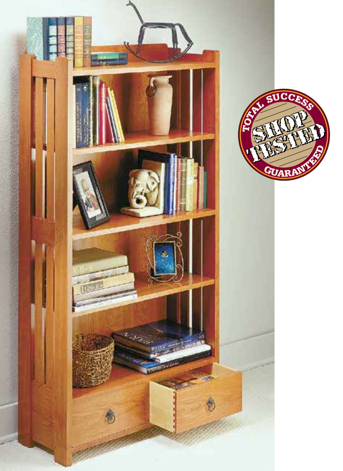 Craftsman Bookcase from Woodsmith