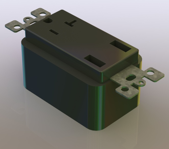 Plug modeled in CAD so I can use it to start mocking up the design