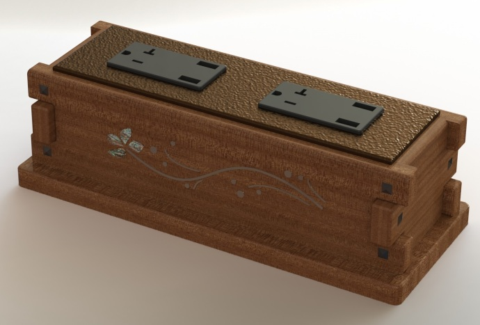 Power strip rendering