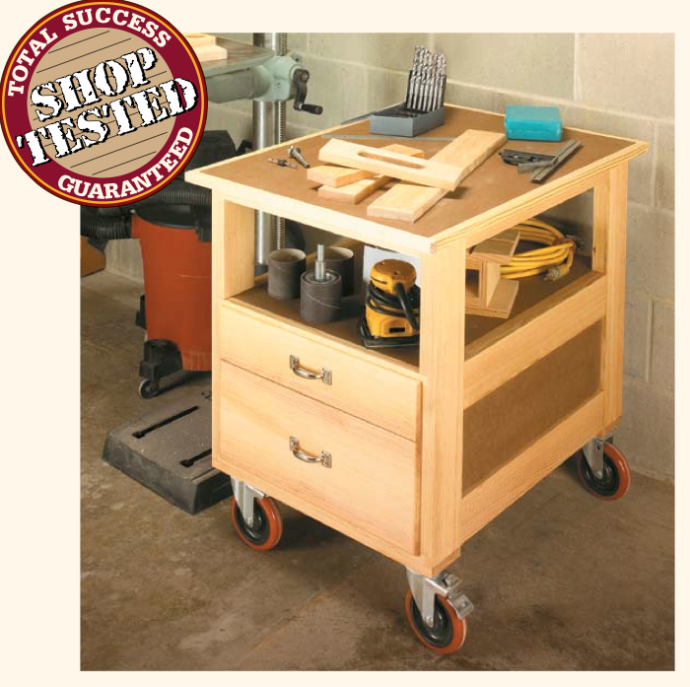 Shop cart from Shop Notes magazine