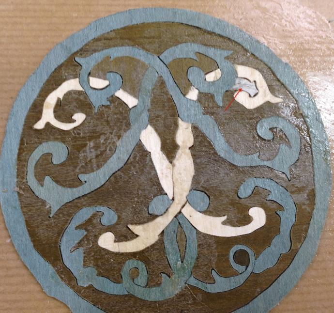 Coaster repaired