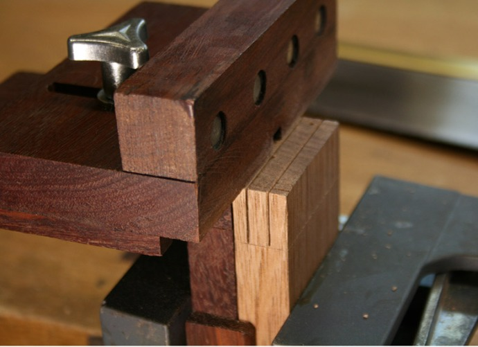 From inthewoodshop.com, a nifty tenon jig