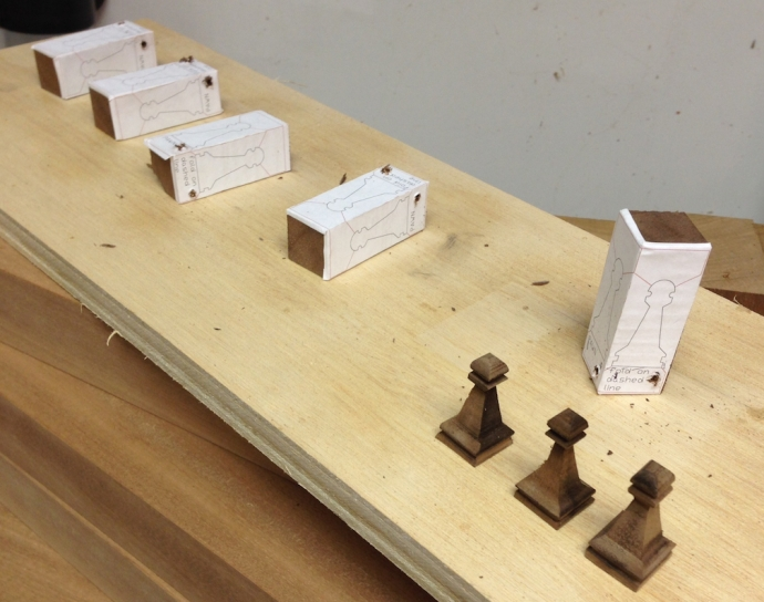 """The """"black"""" pawns getting started"""