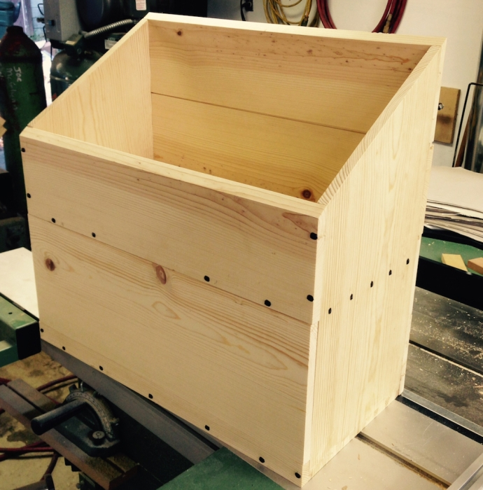 Just need to trim the lid and get some hinges to complete this one.
