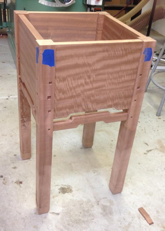 Table base test assembled