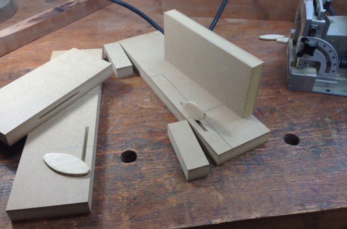 Parts for the spline jig