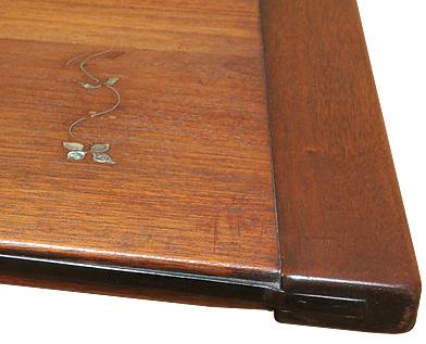 Inlay in original Blacker dining table