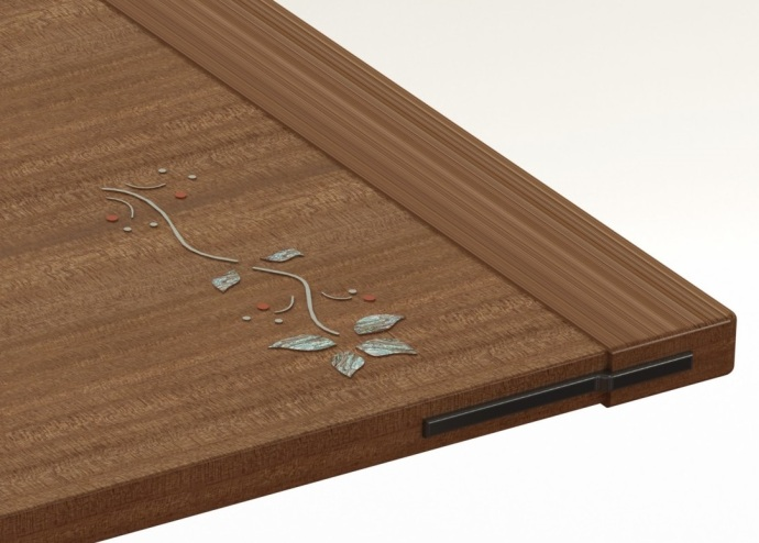 Design for inlay on top